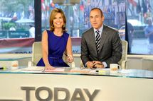"TODAY -- Pictured: (l-r) Savannah Guthrie, Matt Lauer -- ""Today"" show co-hosts Savannah Guthrie and Matt Lauer appear on the ""Today"" show .TODAY -- Pictured: (l-r) Savannah Guthrie, Matt Lauer -- ""Today"" show co-hosts Savannah Guthrie and Matt Lauer appear on the ""Today"" show -- Photo by: Peter Kramer/NBC"
