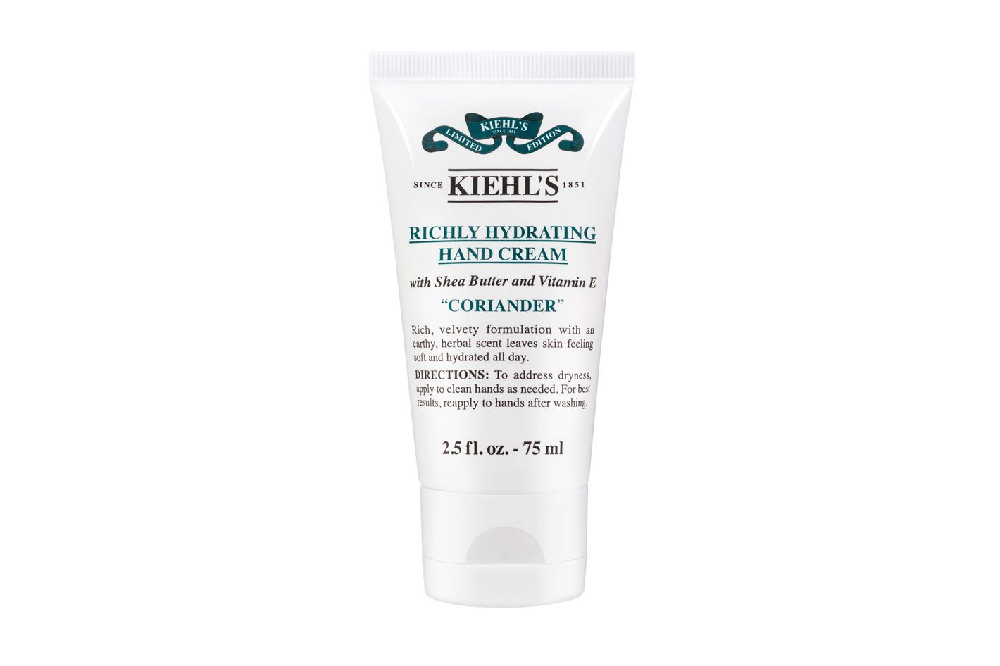 Kiehl's Richly Hydrating Hand Cream in Coriander