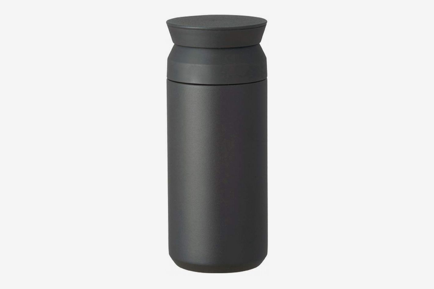 kinto insulated bottle black small