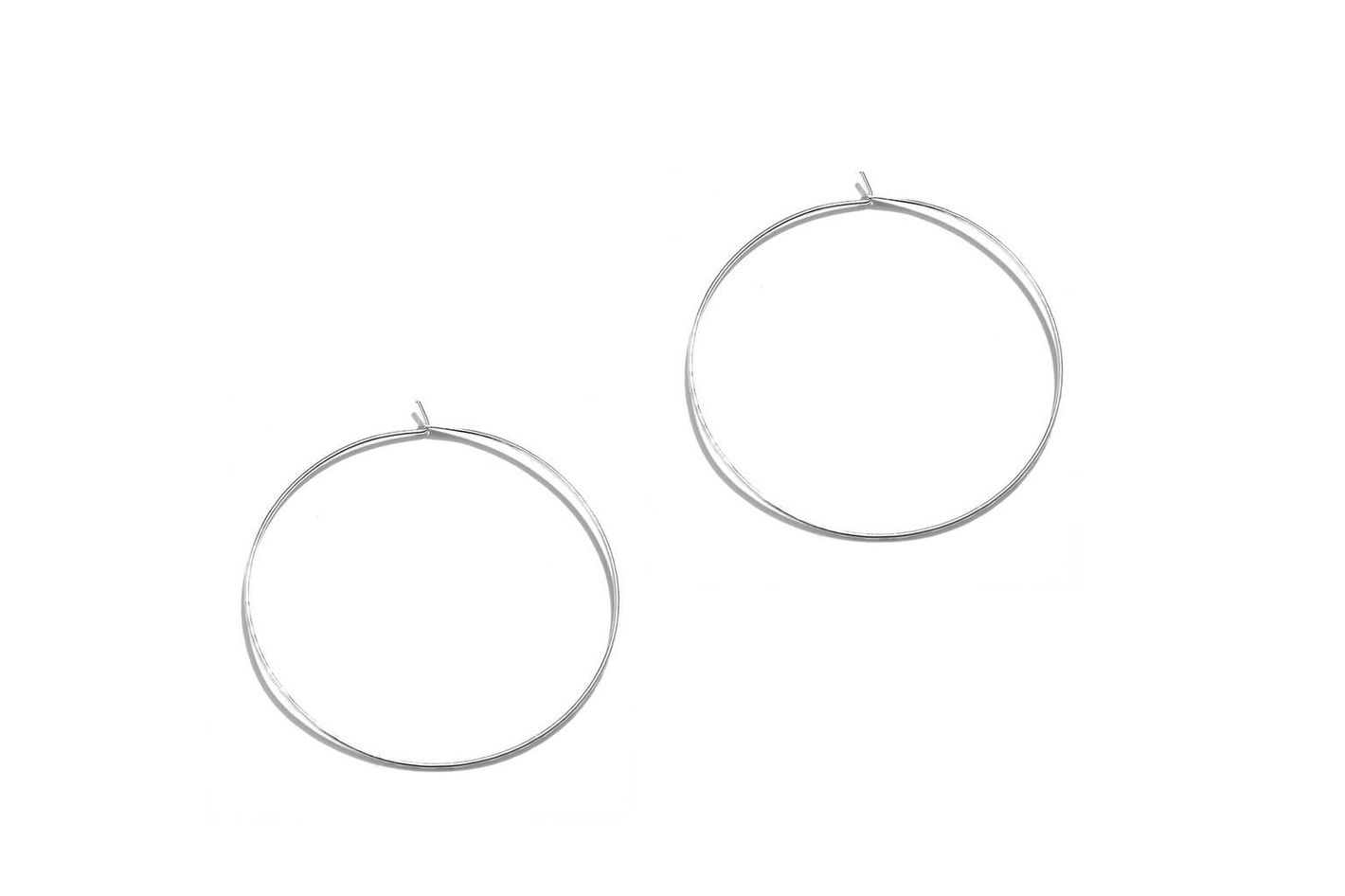 Phyllis + Rosie Hammered Hoop Earrings