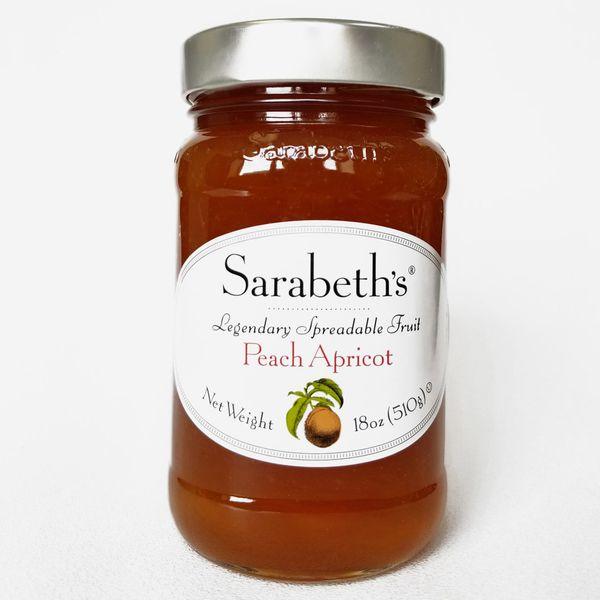 Sarabeth's Peach Apricot Preserves, 18oz
