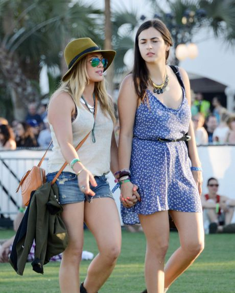 Hillary Duff and Camilla Belle.