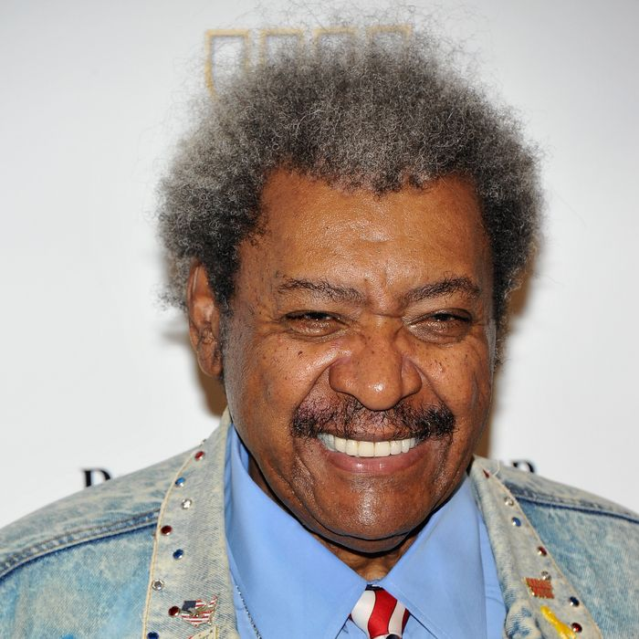 Don King attends the