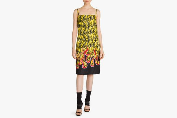 Prada Banana Slip Dress