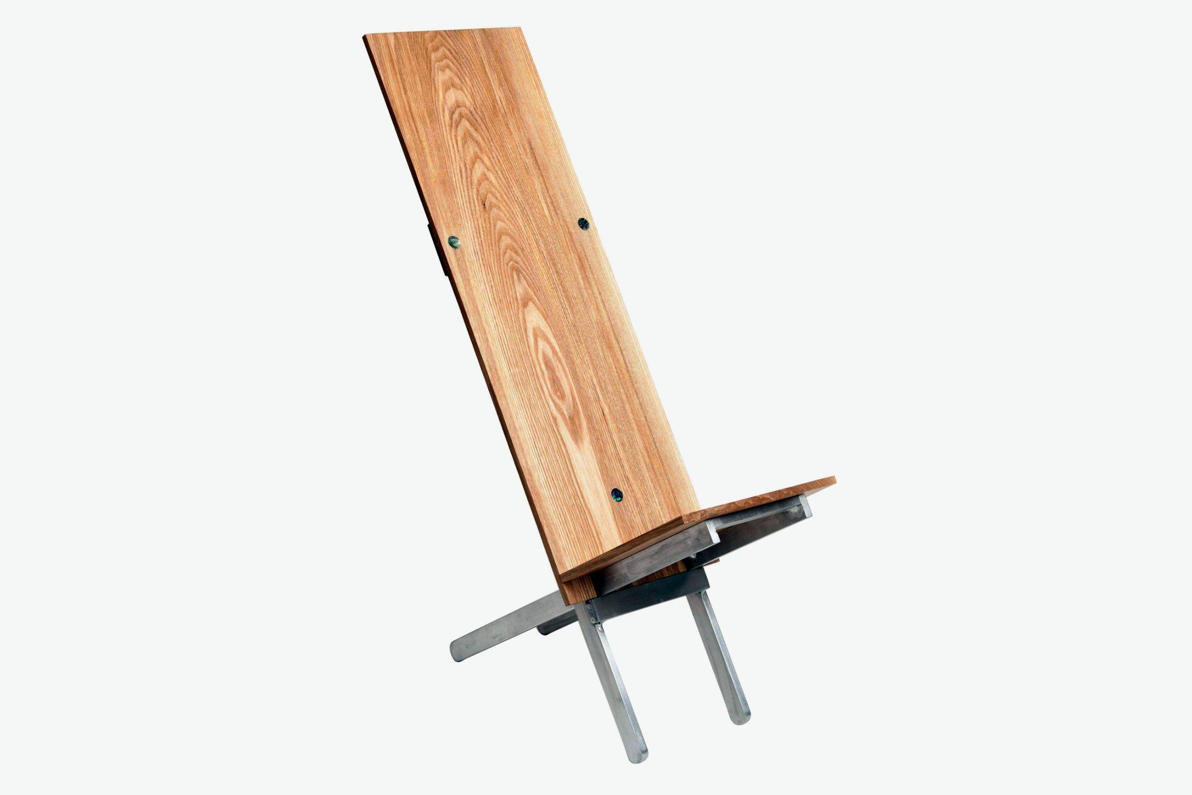 Chen Chen & Kai Williams Emerald Ash Slotted Chair