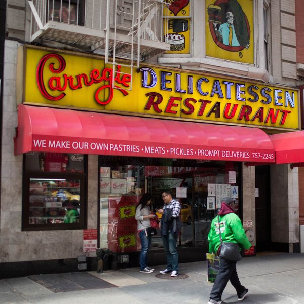 Carnegie Deli Finally Shows Signs of Life