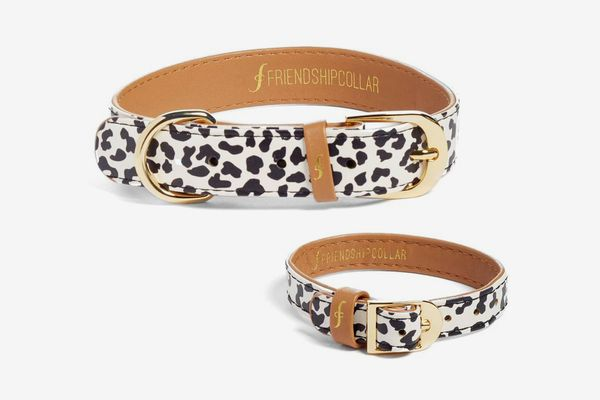 Friendship Collar the Wild One 2-Piece Faux Leather Collar & Friendship Bracelet Set