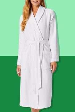 Coyuchi Unisex Mediterranean Organic Robe
