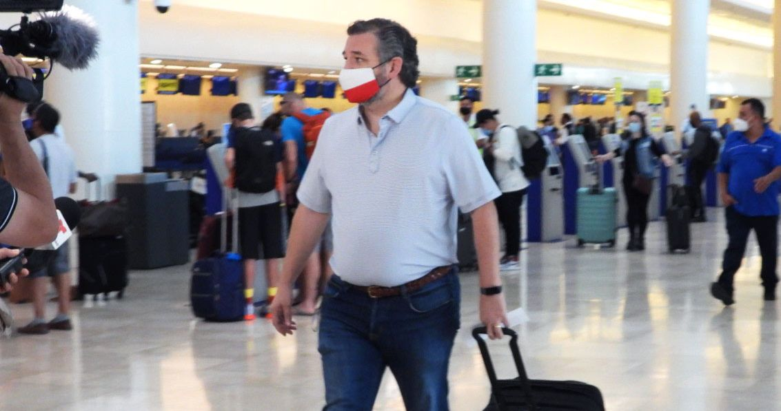 Ted Cruz Can Run to Cancún, But He Can't Hide From These Memes