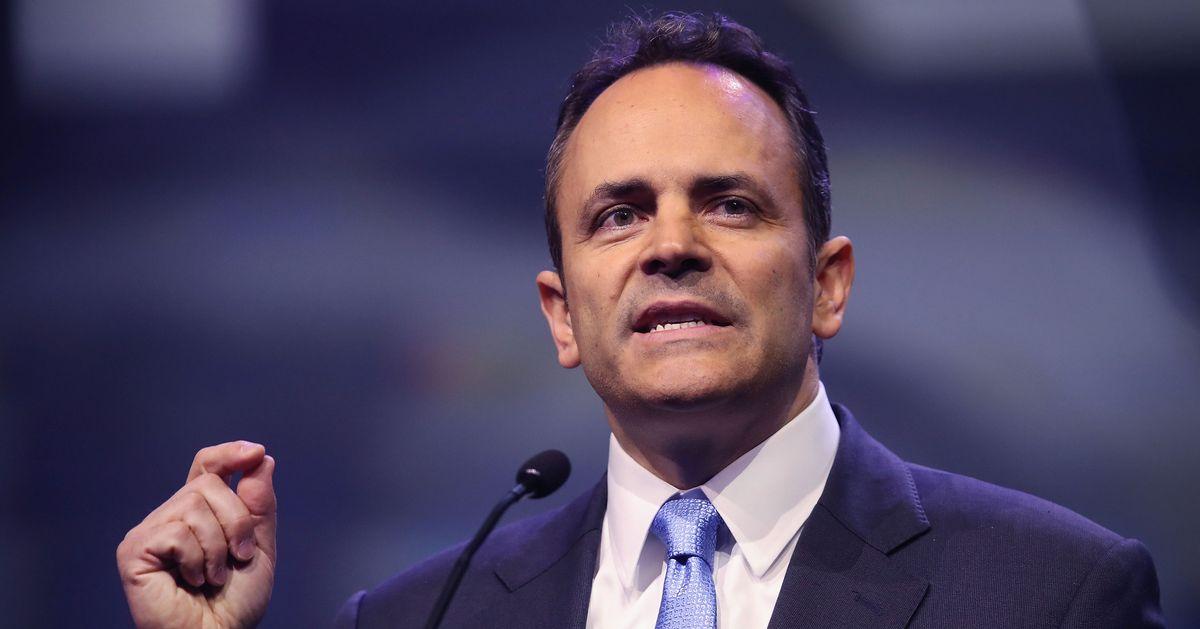 Bevin Blames His Defeat on 'Urban Vote Harvesting'