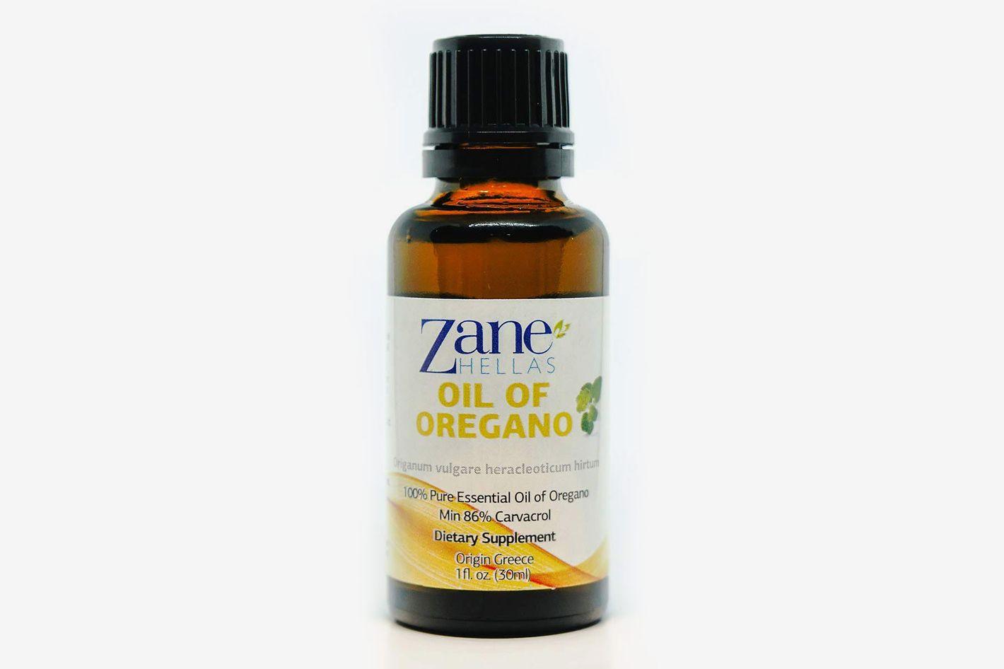 Zane Hellas Pure Greek Essential Oil of Oregano With 86 Percent Minimum Carvacrol
