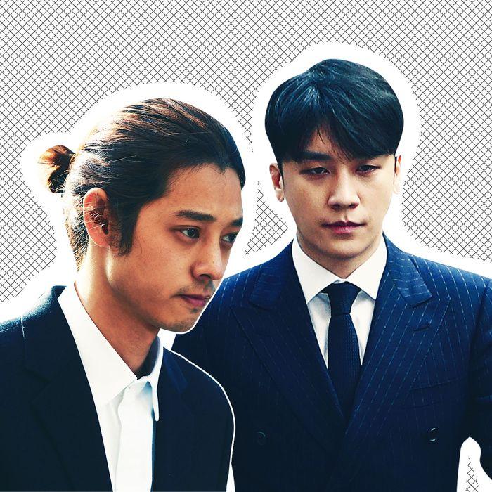 Jung Joon-Young and Seungri.