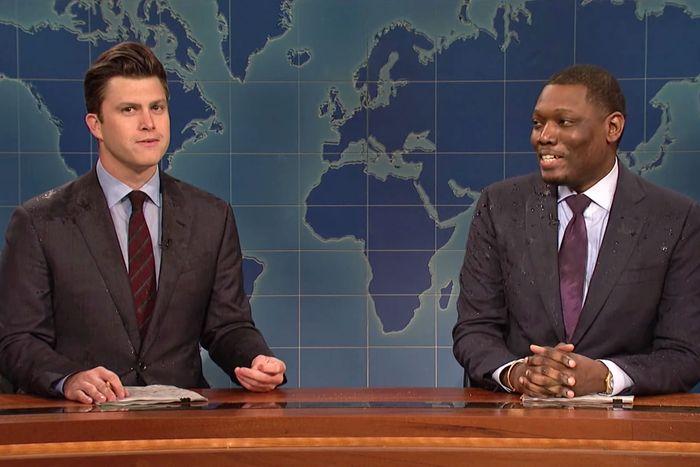 SNL': 'Weekend Update' Is Best When Jost and Che Swap Jokes