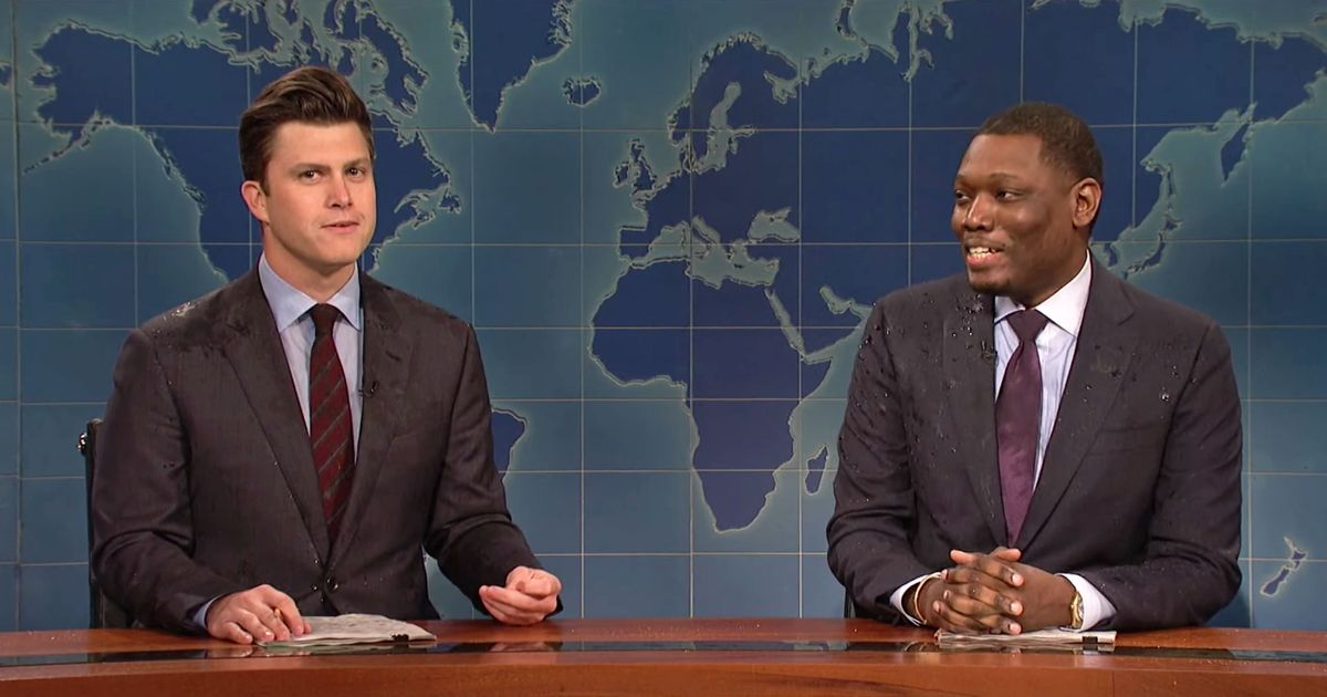 SNL's 'Weekend Update' Is Best When Colin Jost and Michael Che Torture Each Other
