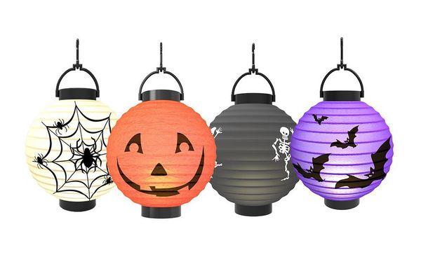 Halloween Pumpkin Lantern — 4 Pack