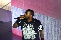 Kanye West performs onstage as Samsung Galaxy presents JAY Z and Kanye West at SXSW on March 12, 2014 in Austin, Texas.