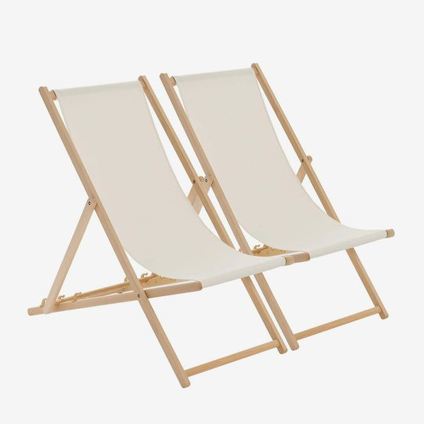 Harbour Housewares Deck-Chair Set