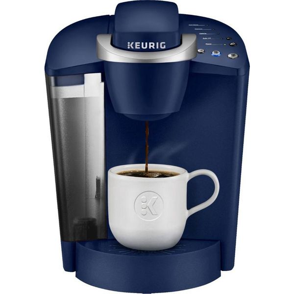 Keurig K-Classic K50 Single Serve K-Cup Pod Coffee Maker, Patriot Blue