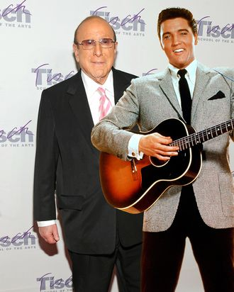 Record producer Clive Davis - Elvis Presley