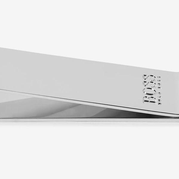 Hugo Boss Majestic Logo-Engraved Silver-Tone Money Clip