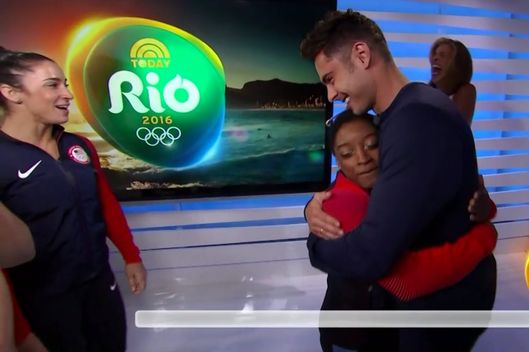 Watch Simone Biles Has a Life-Size Cutout of Zac Efron in HerBedroom video