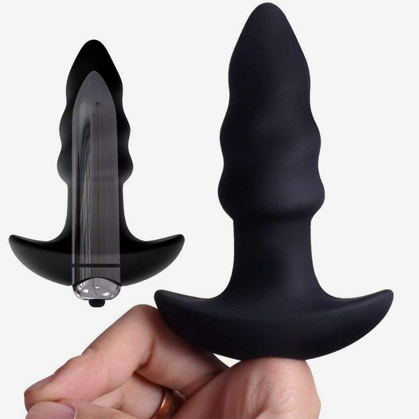 Corkscrew Vibrating Butt Plug by Honey Adult Play