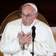 Pope Francis Visits Saint Charles Borromeo Seminary To Address International Bishops