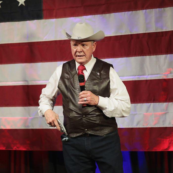 Roy Moore Is Still the Wacko to Beat in Alabama Senate Race