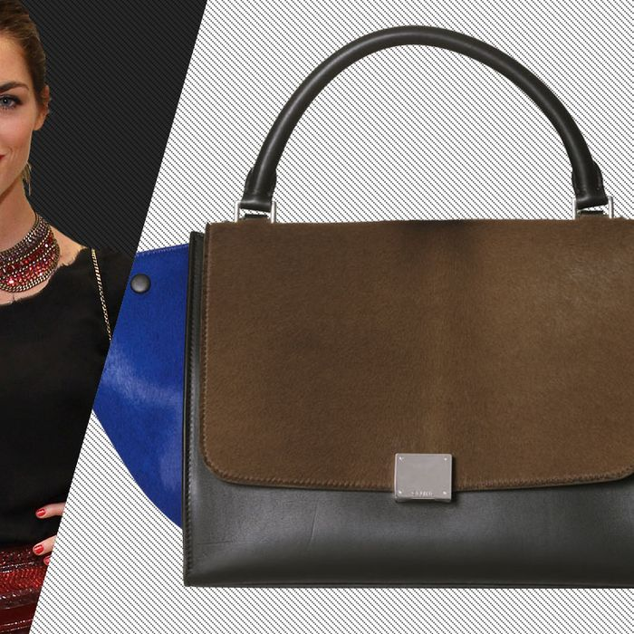 Hilary Rhoda s New Thing  The Celine Trapeze Bag 6d4075a0e0bb9