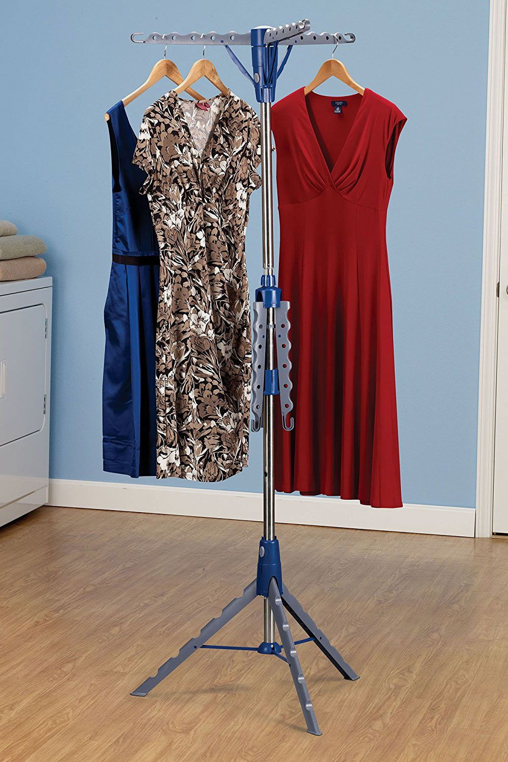 Household Essentials 5009 1 Collapsible Portable Indoor Tripod Clothes  Drying Rack