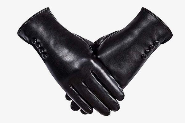 Alepo Thermal Touchscreen Driving Gloves with Wool Lining