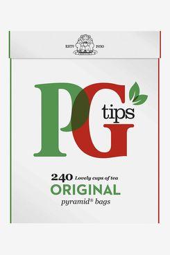 PG Tips Black Tea, Pyramid Tea Bags, 240-Count Box