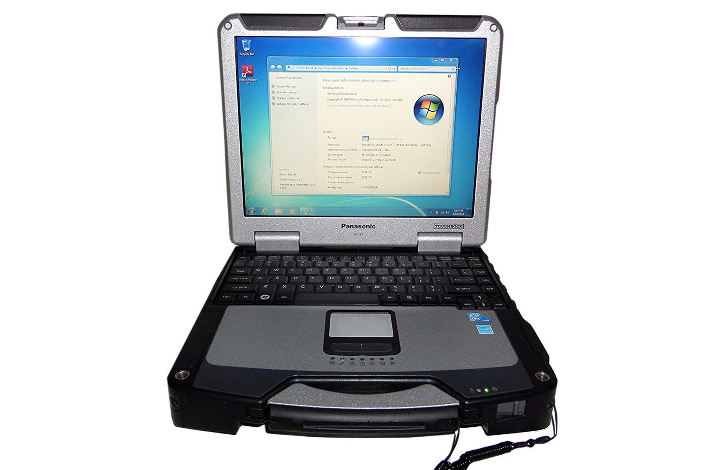 Panasonic Toughbook CF-31 Rugged Notebook PC With Core i5