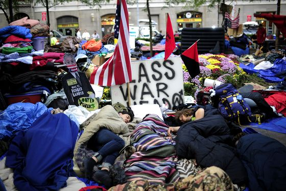 NYPD Says Protesters Can't Bring Belongings Back to Zuccotti Park After Cleaning