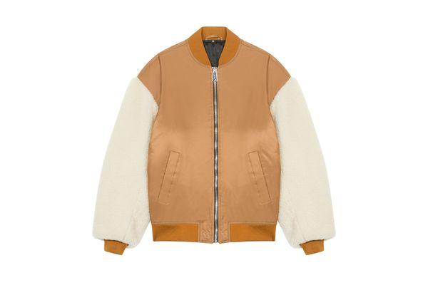 Maje x Schott Sheapskin Jacket