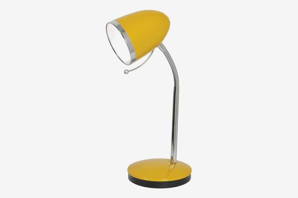 Oaks Lighting Madison Table Desk Lamp Yellow, Metal