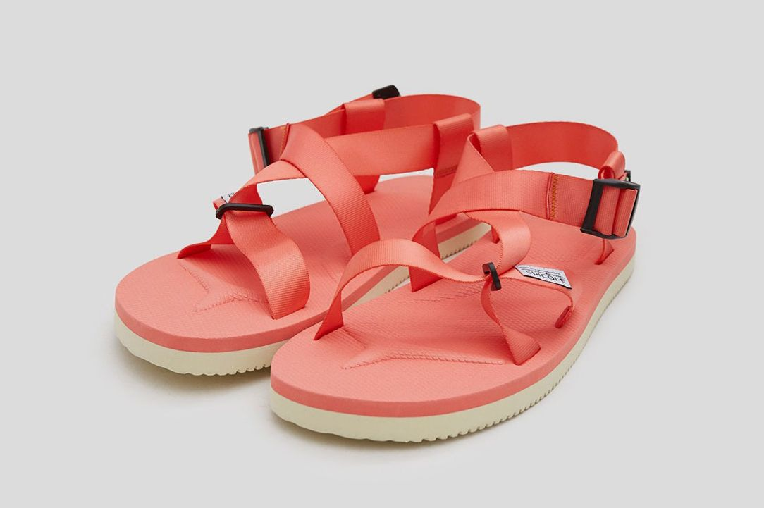 Suicoke CHIN2-Cab Sandal in Orange