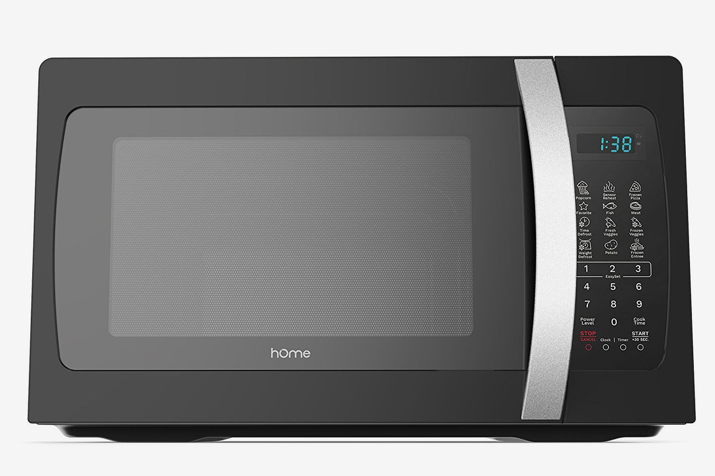 Homelabs 1050 Watt Countertop Microwave Oven With Accessories