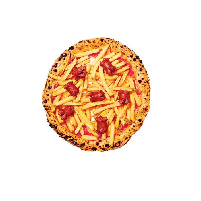 Ribalta's Americana pizza.