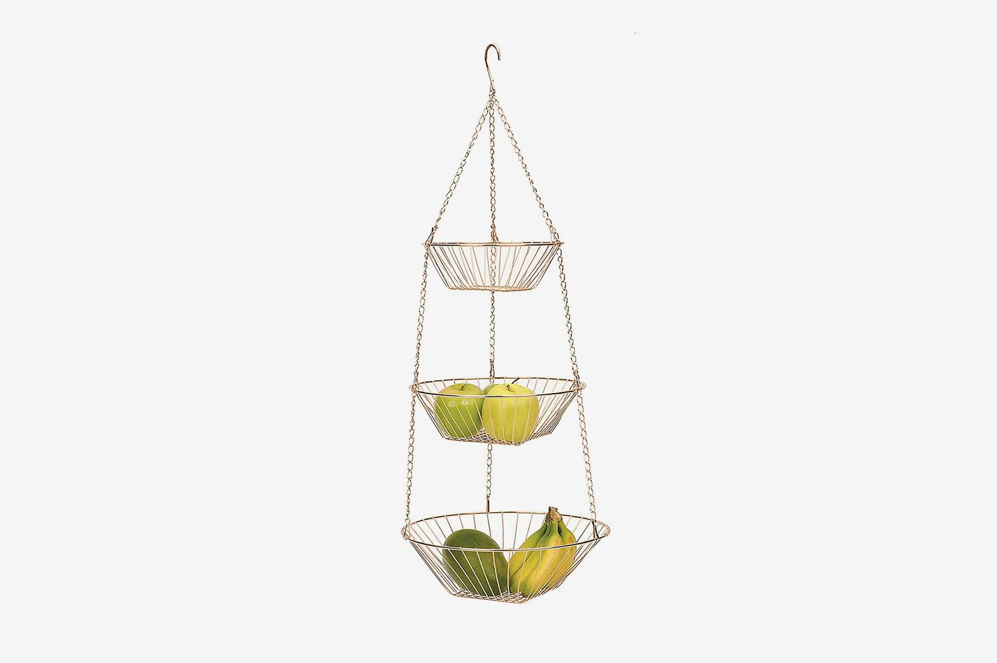 RSVP 3-Tier Hanging Wire Basket