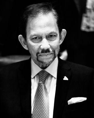 Brunei sultan Hassanal Bolkiah.