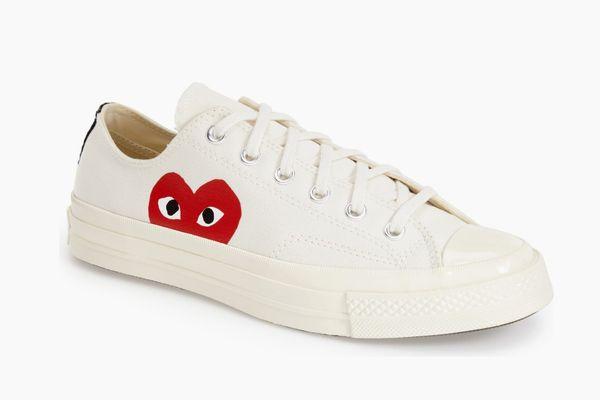Comme Des Garçons Play x Converse Hidden-Heart Low-Top Sneaker