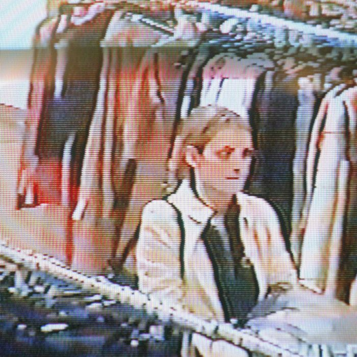 Winona's infamous shoplifting surveillance photo.
