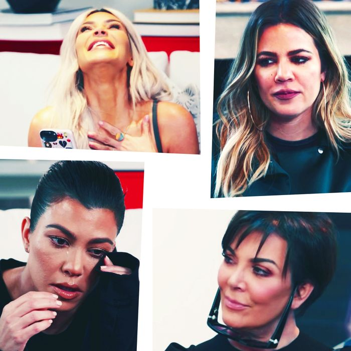 Kardashian family therapy session