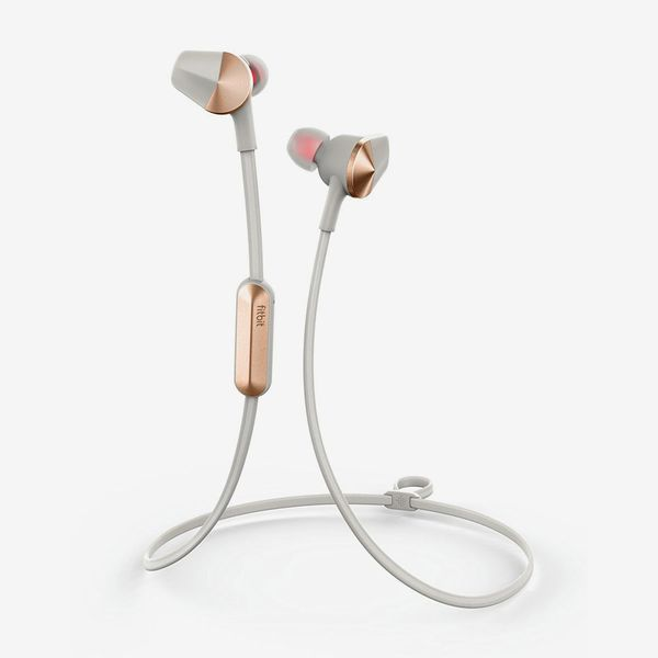 lunar gray fitbit flyer wireless headphones - strategist fitness trackers on sale