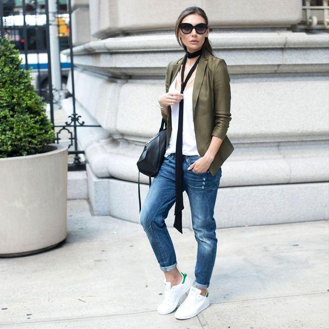 4814ff48599b 12 Ways to Wear a Skinny Fashion Scarf This Fall -- The Cut