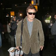 Alec Baldwin touches ground at American Airlines in JFK airport in New York after reportedly being thrown off his flight earlier in the day for allegedly not turning off his phone while playing a game with a friend at LAX. <P> Pictured: Alec Baldwin  <P> <B>Ref: SPL341075  061211  </B><BR/> Picture by: Turgeon/Rocke/Splash News<BR/> </P><P> <B>Splash News and Pictures</B><BR/> Los Angeles:310-821-2666<BR/> New York:212-619-2666<BR/> London:870-934-2666<BR/> photodesk@splashnews.com<BR/> </P>