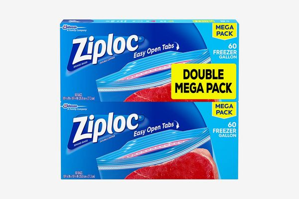 Ziploc Gallon Size Freezer Bags