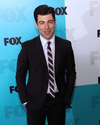 Max Greenfield - FOX 2012 Programming Presentation Post Show Party