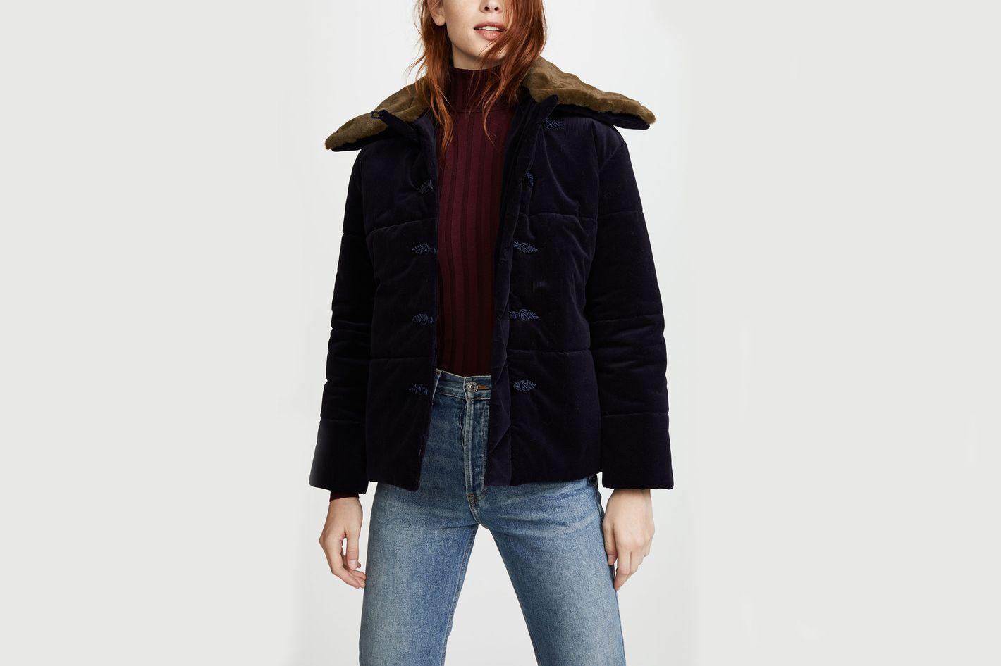 Pamplemousse Puffer Jacket